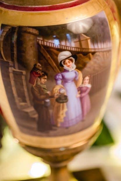 Biedermeier Vase