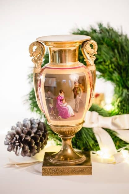 Empire Biedermeier Vase
