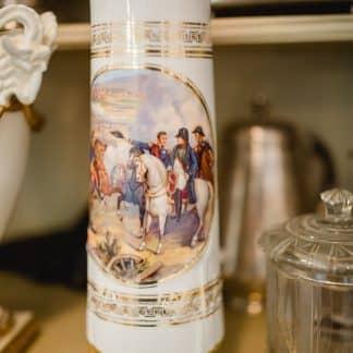 Porzellanvase Napoleon